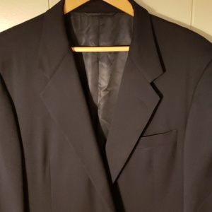 Hickey Freeman Boardroom Navy Sport Coat 46R